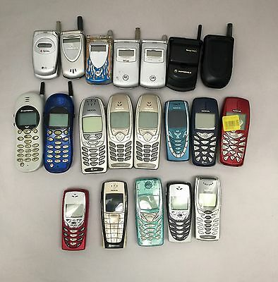 Wholesale Lot 20pc - Cell Phone Mobile (Assorted) (Used - Working)