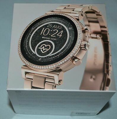 Michael Kors Access Slim Sofie Rose Gold Smart Touchscreen Watch MKT5063
