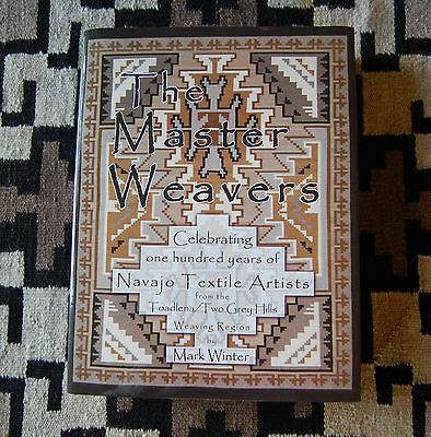 BOOK~ MASTER WEAVERS Two Grey Hills TOADLENA Navajo rug NEW Hardback RANCHFOLKS