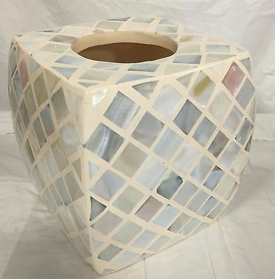 Mosaic Tissue - Brand New porcelain ceramic Resin square Mosaic tissue cover soft multi color
