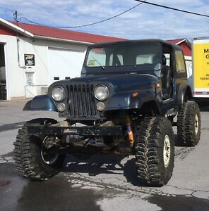 "Jeep CJ7  "" hors-route"""