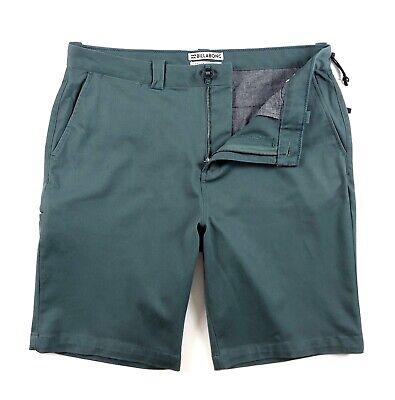 Billabong Mens Walkshorts - Billabong Shorts Men's Carter Stretch Walk Shorts Green Heather