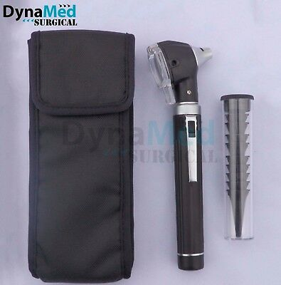 Fiber Optic Mini Otoscope Diagnostic Setblackbright Whitest Led Ilumination