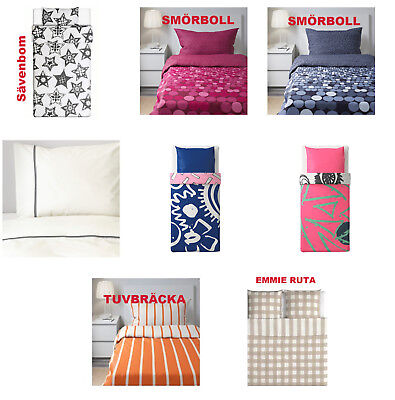 IKEA Bettwäsche Sets div. Modelle Farben Baumwolle 140 x 200 + 240 x 220