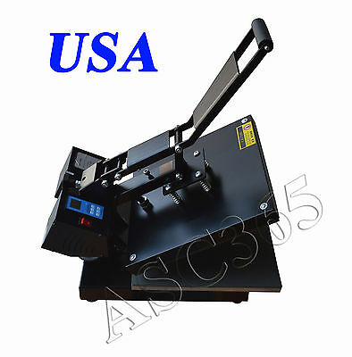 New 15x15inch Digital Heat Press T-shirt Transfer High Pressure Garment Printing