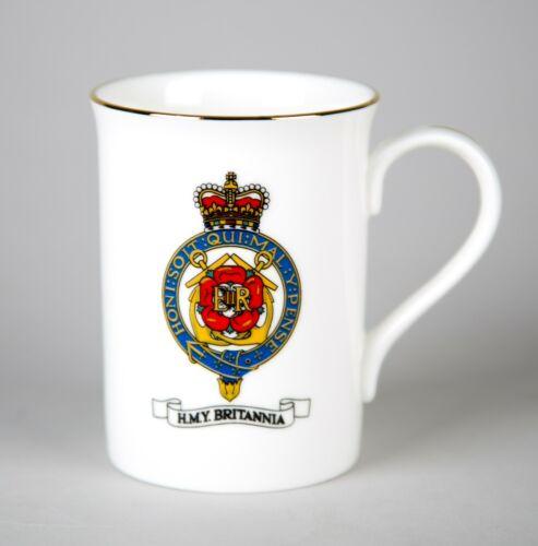 The Britannia Collection HMY Royal Yacht Mug Vintage Bone China England