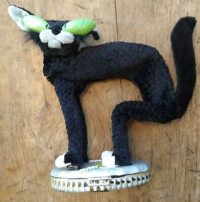 Fraidy Black Alley Cat by Gemmy Halloween Works, Plays, Sings, Moves