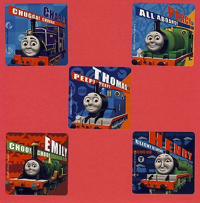 10 Thomas the Tank Engine Train - Large Stickers - Party Favors (Train Stickers)