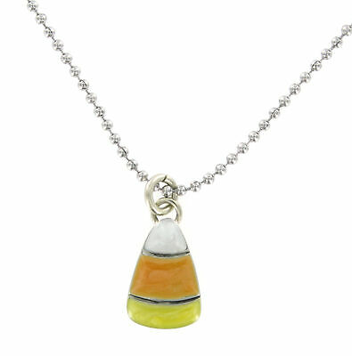 Candy Corn Enamel Necklace Halloween!  Thanksgiving! *CLOSEOUT* Make Deal!