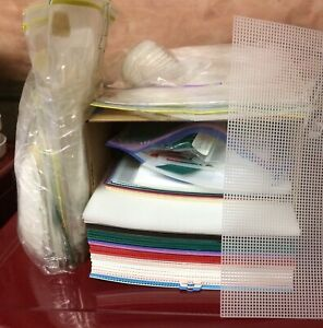 Plastic Canvas Sheets Craft Supplies For Sale