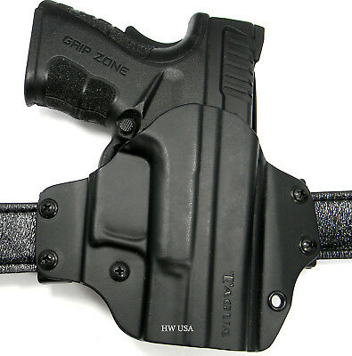 TAGUA BLADE-TECH Right Hand Eclipse OWB Kydex Belt Holster SPRINGFIELD XD SUB 3