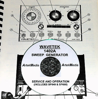 Wavetek 1402a Sweep Generator Service Ops Manual