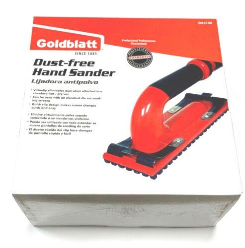 Goldblatt Dust Free Hand Sander Kit With 6ft Hose G05138