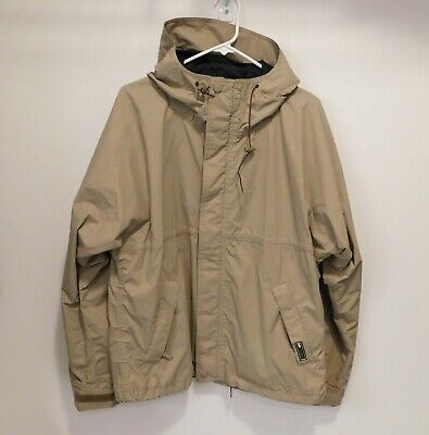 Men's HELLY HANSEN Helly Tech Small Hooded Jacket Waterproof Tan