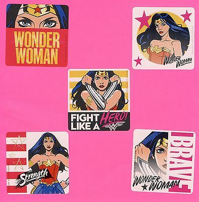 Party Favors For Women (15 Wonder Woman Hero - Large Stickers - Party Favors -)