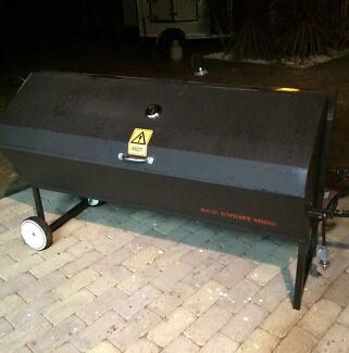 Large gas Spit roaster for hire  tables , chairs , dance floor  Bellbird Park Ipswich City Preview