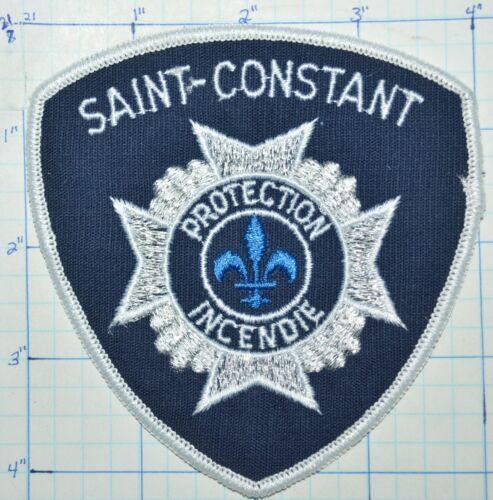 CANADA, SAINT-CONSTANT FIRE DEPT PROTECTION INCENDIE QUEBEC PATCH