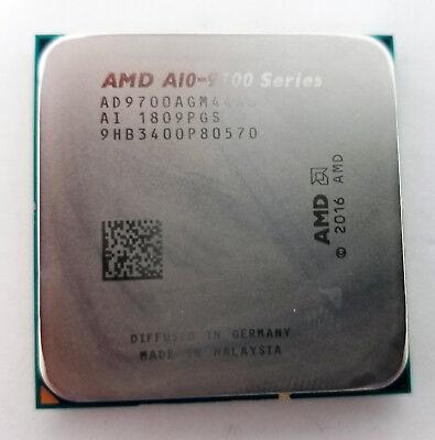 AMD CPU A10-9700 3.5GHz Quad-Core AD9700AGM44AB Socket AM4 Processor