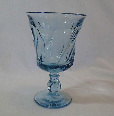 (Fostoria Jamestown Light Blue Water Goblet/Footed Tumbler(s))