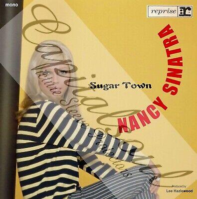 60S FEMALE POP REPRISE NANCY SINATRA SUGAR TOWN PICTURE SLEEVE