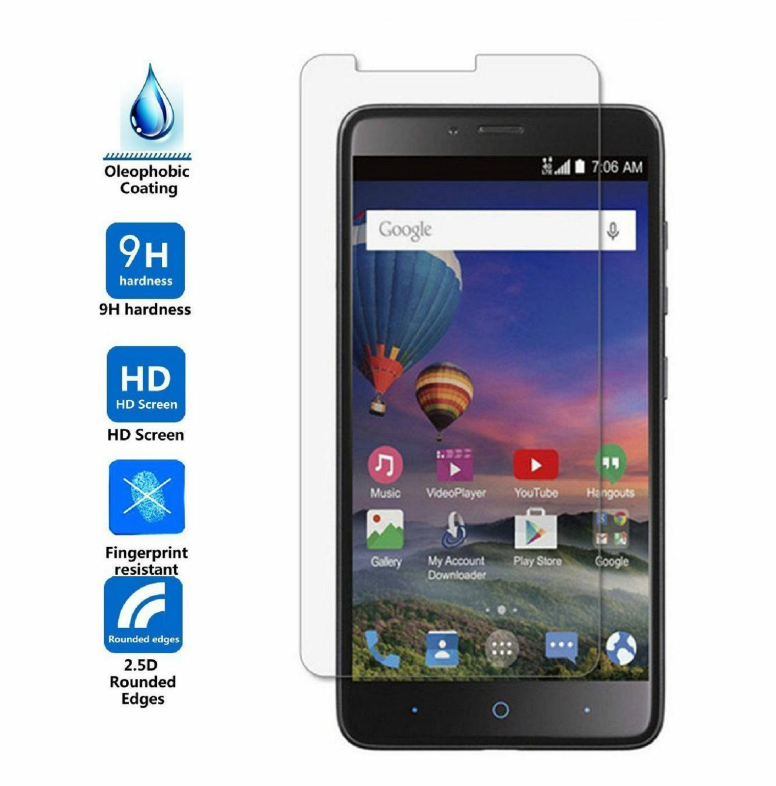 zte zmax pro tempered glass the stored-value
