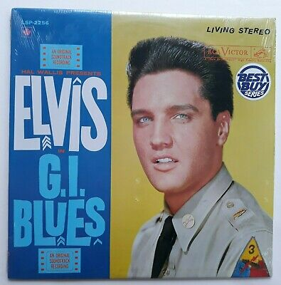 Elvis Presley  G.I. Blues  RCA Best Buy  LSP-2256  Living Stereo  SEALED