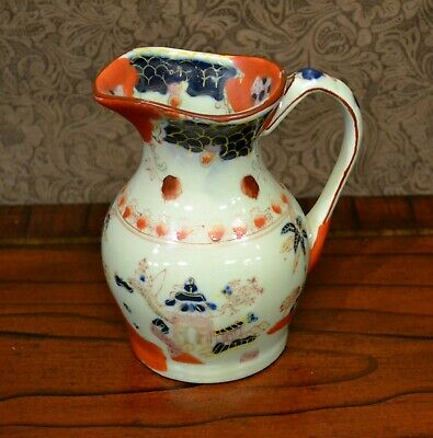 Water a Pitcher-Asian Ceramic Pitcher-Hand Painted-6