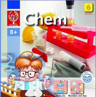 EDU-Toys Kleiner Experimentierkasten Chemie für Kinder ab 5 Jahren ()