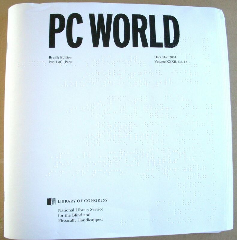 PC World - October 2016 (Braille for the blind)