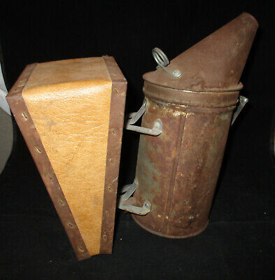 Vintage Antique Bee Smoker Dadant Sons Hamilton Il