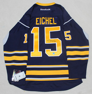 Jack Eichel signed autograph Buffalo Sabres reebok jersey