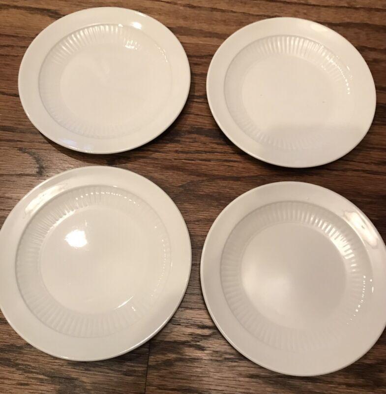 "(4) England WM Adams & Sons Real English Ironstone Micratex Porcelain Dish 5.2"""