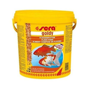 Comida a granel para peces de agua fria sera goldy for Peces de agua fria para estanques
