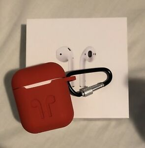 Apple AirPods with Protective Case - Still 6 Months Warranty