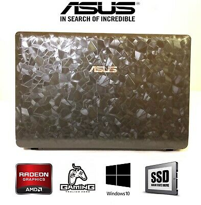 ASUS GAMING LAPTOP 8GB 120GB SSD Radeon HD Graphics 15.6""