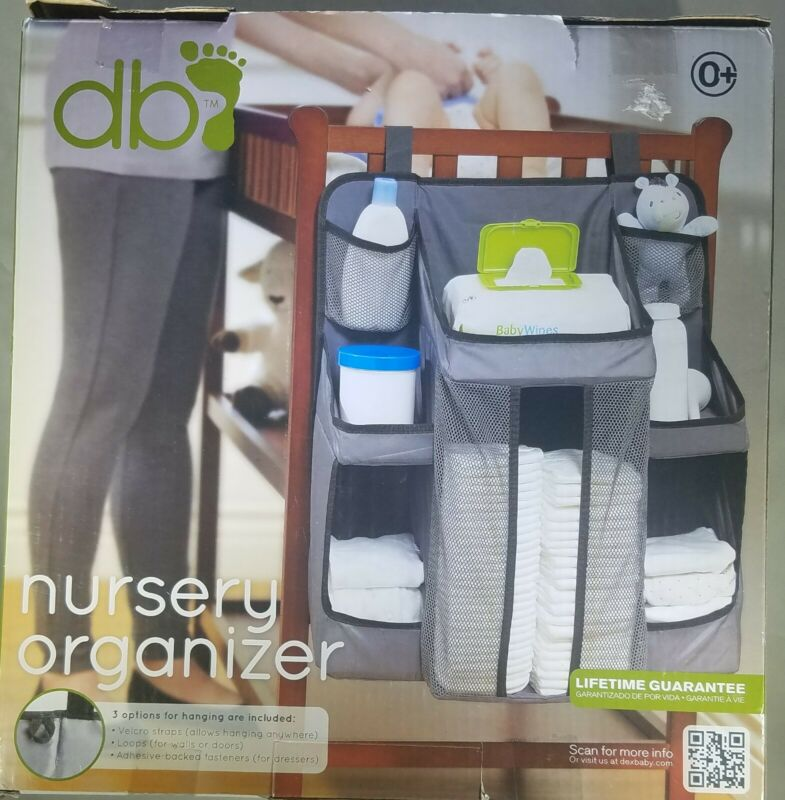 Diaper Caddy and Nursery Organizer for Baby