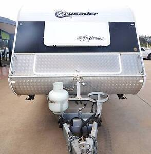 2012 CRUSADER INSPIRATION 22' FULL ENSUITE SEMI OFF ROAD CARAVAN Gympie Gympie Area Preview