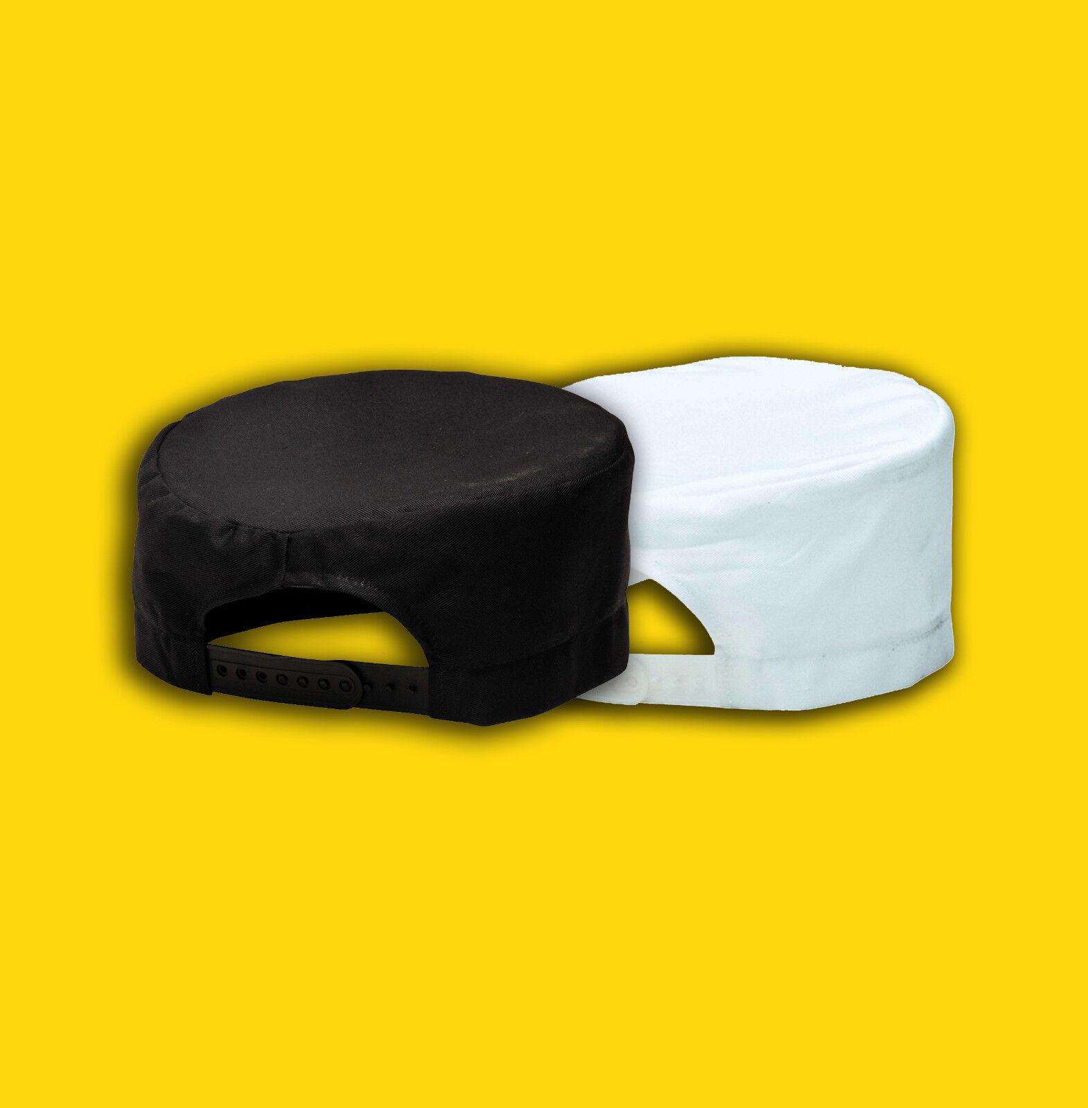 Kochmütze, Kochkäppi, Kochhut, Mütze S899 Portwest (weiß/schwarz)