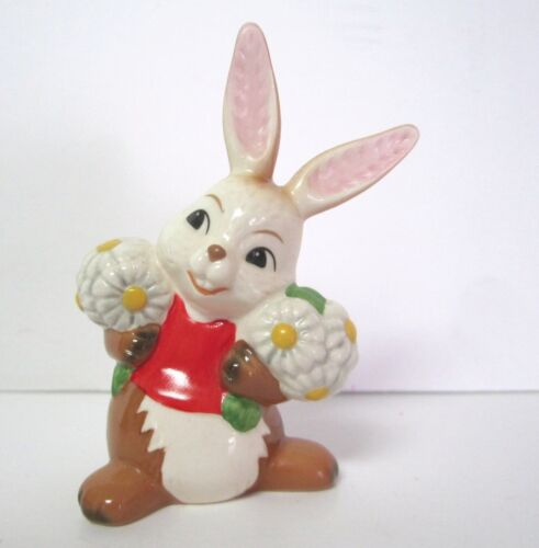 Goebel Easter Rabbit with Flowers