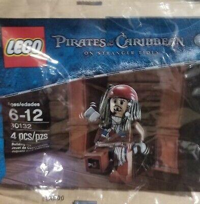 LEGO #30132 Disney Pirates Of Caribbean Jack Sparrow single figure