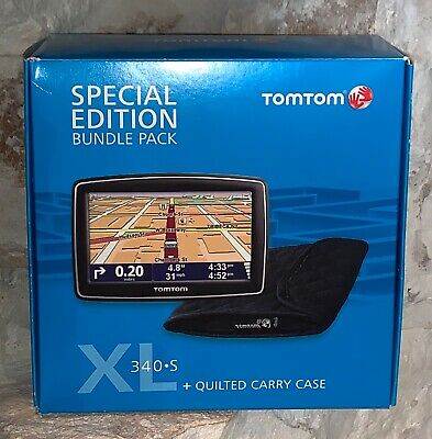 TomTom XL 340 S GPS Special Bundle Pack Edition PADDED CARRY CASE