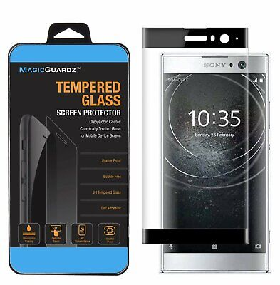 Full Cover 3D Curved Tempered Glass Screen Protector for Sony Xperia XA2 Cell Phone Accessories