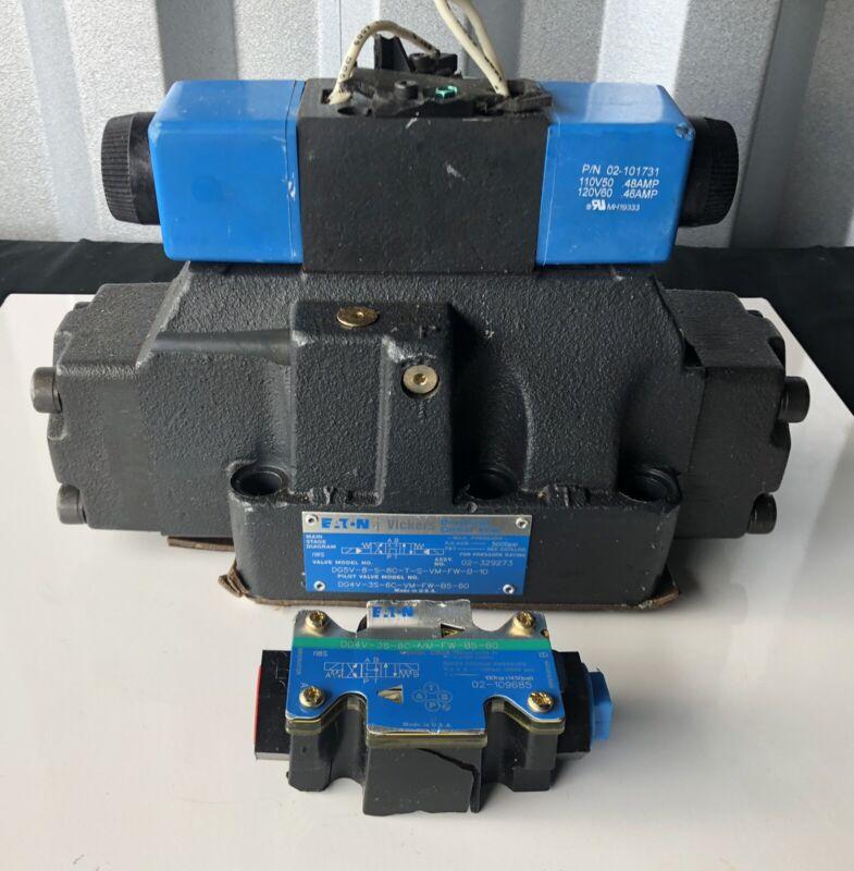 Eaton Vickers DG5V-8-S-8C-T-S-VM-FW-B-10 Directional Control Valve NEW!!!