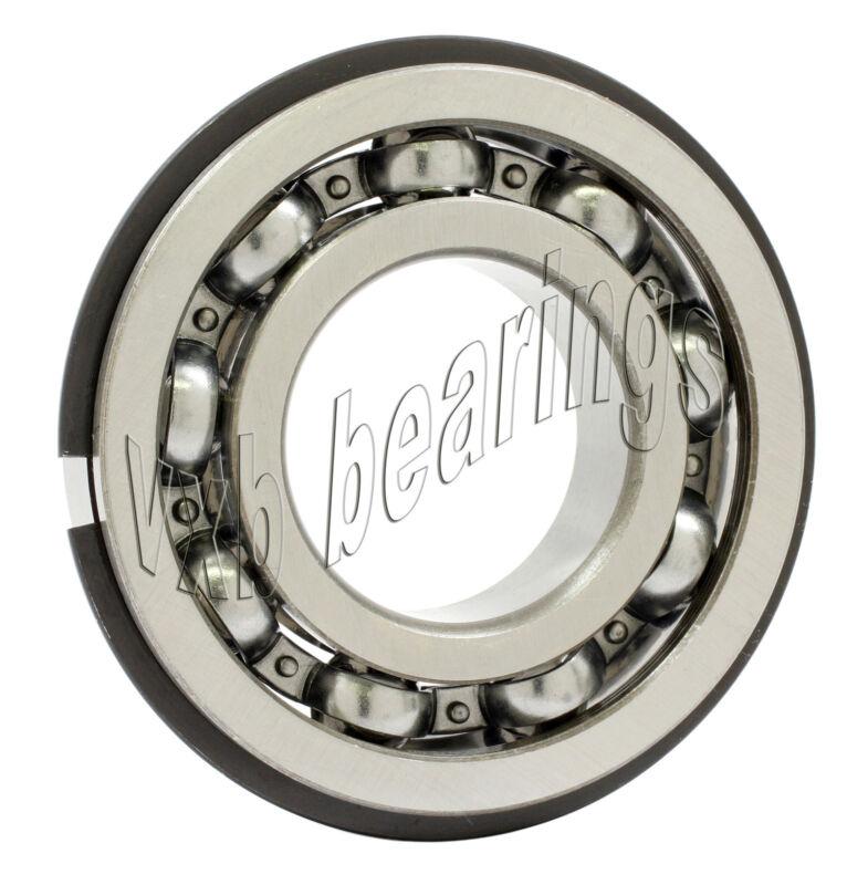 6206NR 30x62x16 Snap Ring 30mm/62mm/16mm Deep Groove Radial Ball Bearings C Clip