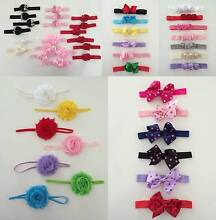 130 pieces BULK  / WHOLESALE - BABY TODDLER GIRL MIXED HEADBANDS St Marys Penrith Area Preview
