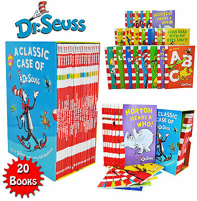 A Classic Case of Dr. Seuss 20 Books Box Set Pack Collection