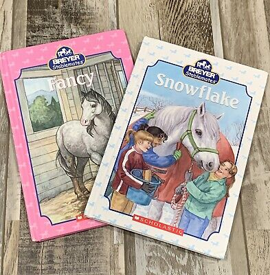 Breyer Stablemates Hardcover Books Snowflake And Fancy