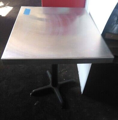 Used Stainless Steel Work Table 24 X 30 X 35 Adjustable Feet