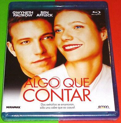 ALGO QUE CONTAR / BOUNCE - English Español - Bluray AREA B...