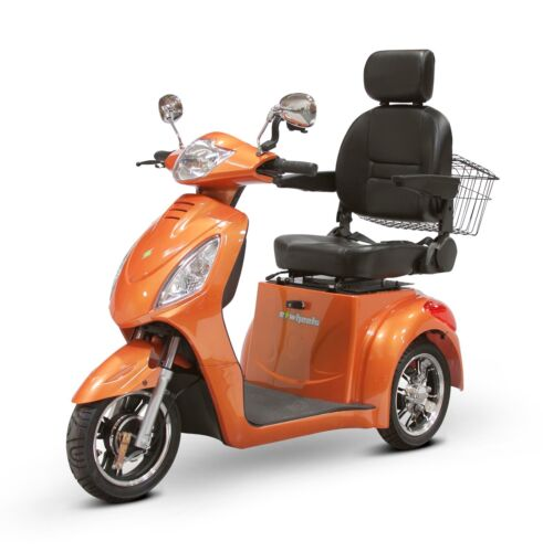 Orange Ew-36 Elite, Electro Magnetic Brakes, Fast, 400 Lb Cap, Up To 45 Mile/chg